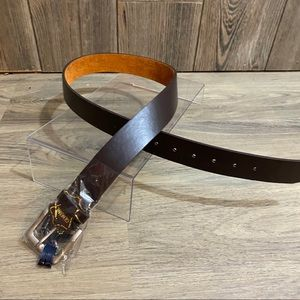 Firenze Men's Genuine Leather Belt NWT